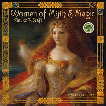 2017 Women of Myth & Magic Calendar