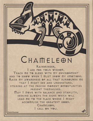 Chameleon Prayer