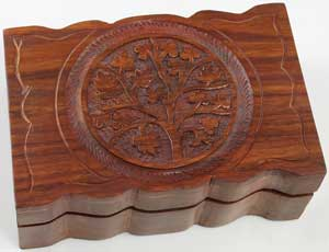 "4"" x 6"" Tree of Life box"