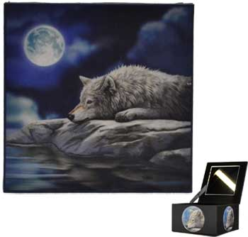 Wolf Mirror box - Click Image to Close