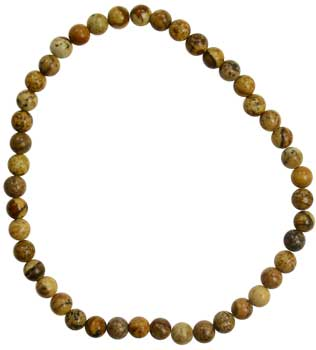 4mm Picture Jasper stretch