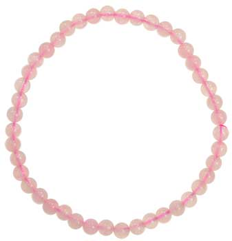 4mm Rose Quartz stretch