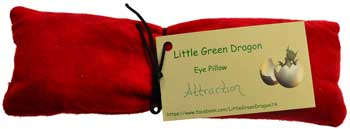 Attraction eye pillow