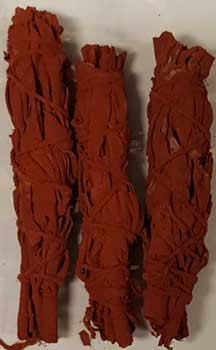 Dragon's Blood smudge 3-pk 4""