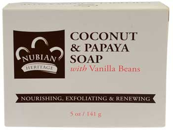 Coconut & Papaya soap 5oz
