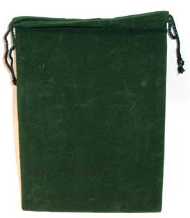Bag Velveteen 5 x 7 Green