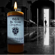 "Wicked Witch MoJo Candle "" Bitch Be Gone"""