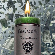 "Wicked Witch MoJo Candle "" Fast Cash"""