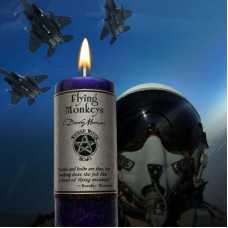 "Wicked Witch MoJo Candle "" Wakin the Dead"""