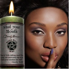 "Wicked Witch MoJo Candle "" Shut your Mouth"