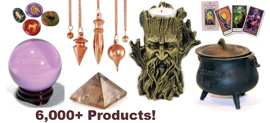Magickal Products, Crystals, Tarot Decks, Incense, and More!